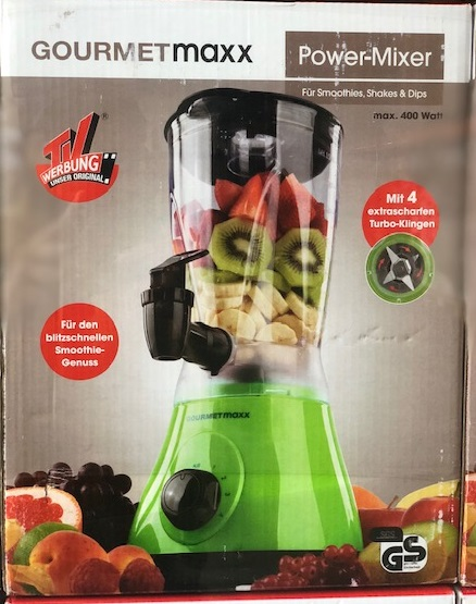 GOURMETmaxx Power - Mixer