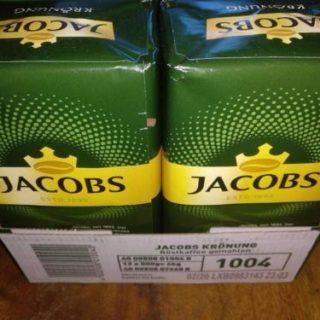 Jacobs Krönung Kaffee 500g - Palettenware
