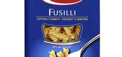 Barilla Fusilli No. 98 Spirelli-Nudeln