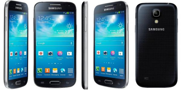 Samsung Galaxy S4 Mini black mist Android 4.4.2