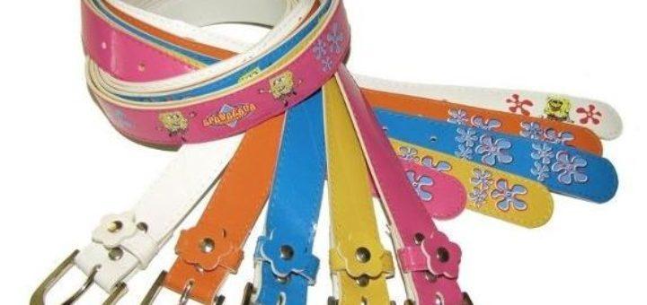 Gürtel für Kinder Verkauf von Sonderposten