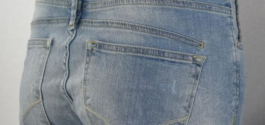 Tigerhill Aimi Roll Up Boyfried Stretch Damen Jeans