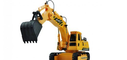 funk ferngesteuertes Baustellen Fahrzeug RC Bagger 1:20
