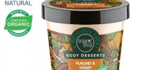 Body Desserts Körperpeeling mit Mandel- und Honigm
