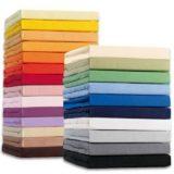 Spannbetttuch 140x200cm in verschiedenen Farben