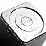 MusicMan Mini Lautsprecher schwarz MP3 Player