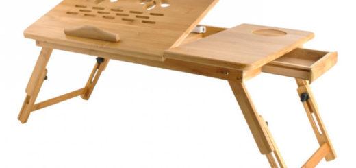 Laptoptisch Notebooktisch Holz oder Betttisch