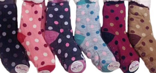 Damen Winter Socken Kuschelsocken