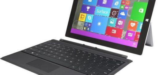 """3 x Microsoft Surface 3 10"""" Atom x7-Z8700 1,6 GHz - HDD 64 GB RAM 4 GB"""