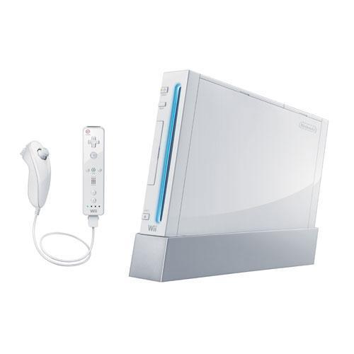 Nintendo Wii + Wii Sportkonsole - Weiß