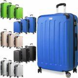 Kofferset Reisekoffer Set Reise Koffer Set 3 tlg ABS Polycarbonat Hartschale
