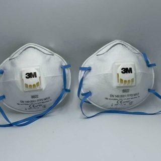 Atemschutzmaske mit Ventil FFP2