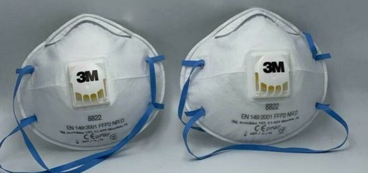 Atemschutzmaske mit Ventil FFP2 Feinstaubmaske Mundschutz Staubmaske