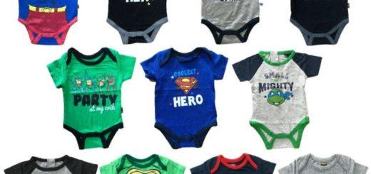 Baby Bodys Lizenzware ab 1,60 EUR Comics