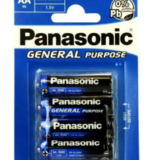 Panasonic Mignon AA / LR6-BP4 Batterie Blister Verpackung