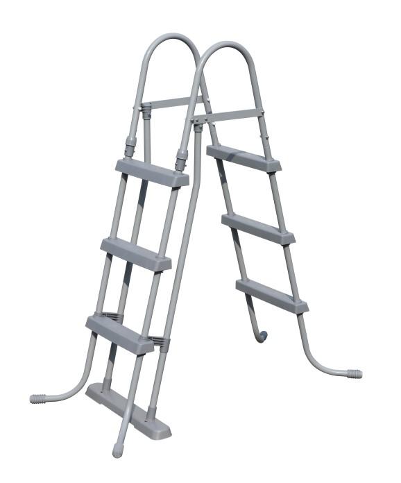 Sicherheitsleiter mit abnehmbaren Stufen