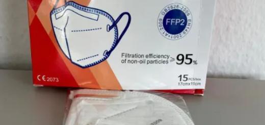 KN95 Atemschutzmaske mit TÜV Zertifikat - großer Posten