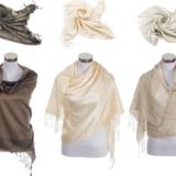 Schal Schlicht Unifarbe 50% Baumwolle - NEUE Verpackt