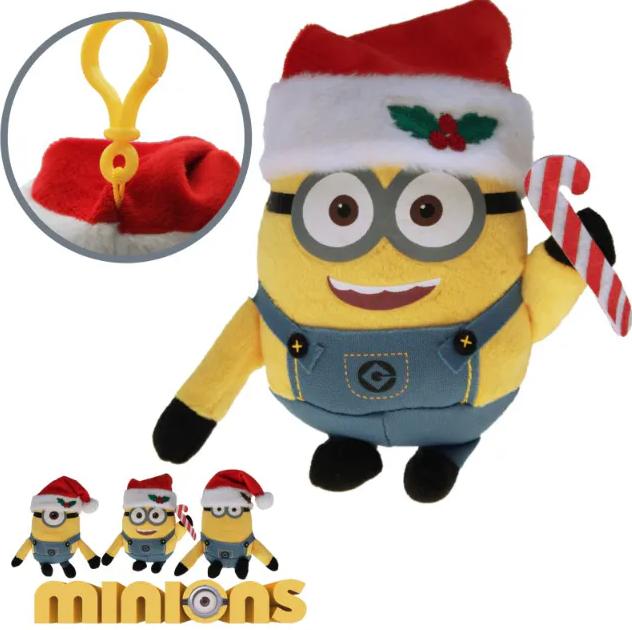 Plüsch Minions Weihnachten