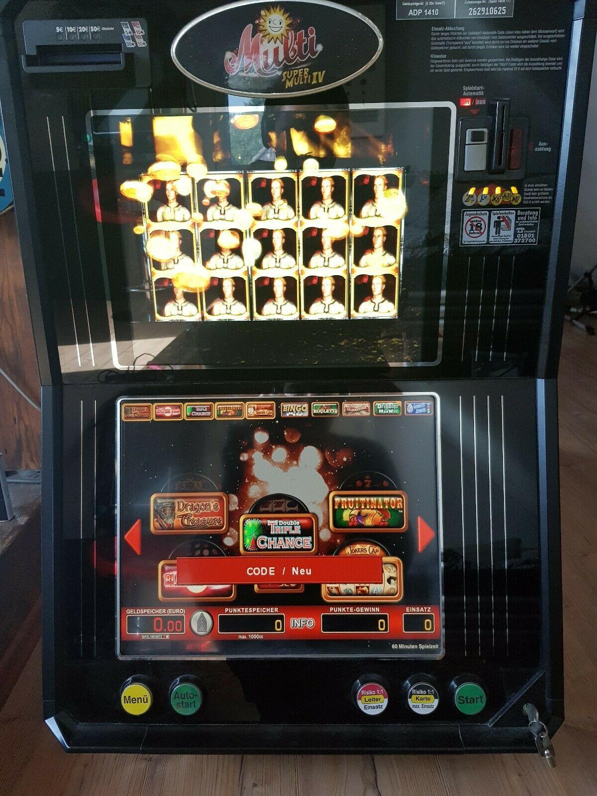 Merkur Multi 4 Spielautomat