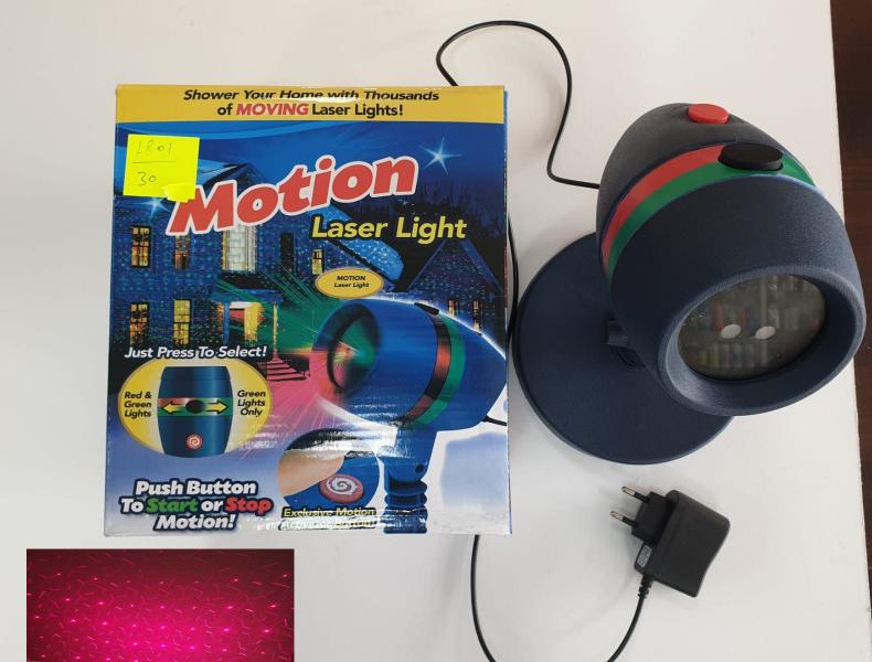 Weihnachtsprojektor LED - Laserlichtprojektor