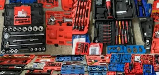 Autowerkzeug, LKW-Werkzeug als Restposten Verkauf als Kiloware