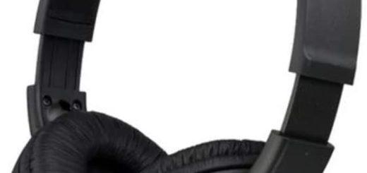 Neue Sony Kopfhörer MDR-ZX110 in black/schwarz