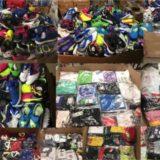 Sportartikel gemischt, Fußballschuhe, Marken T-Shirts, Trainingsanzüge - Sportware - Mischpalette