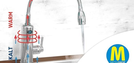 Aquadon Smart Heater - Wasserhahn mit Durchlauferhitzer