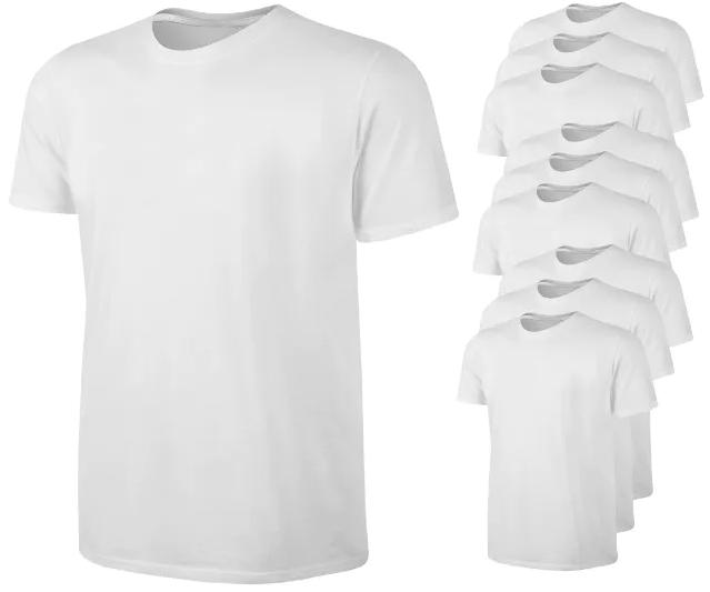 T-Shirt Weiß 100% Baumwolle