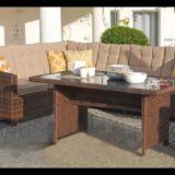 Garten Sitzgruppe Lounge Set Rattan Gartengarnitur