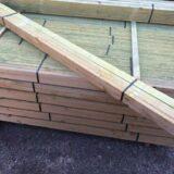 Dachlatten 2 Meter lang 3x5cm Lattung Bauholz Kantholz