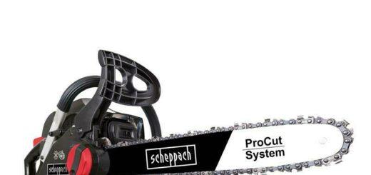 Scheppach Benzin Kettensäge 2 PS Motorsäge 40cm mit ProCut-Schwert CSP41