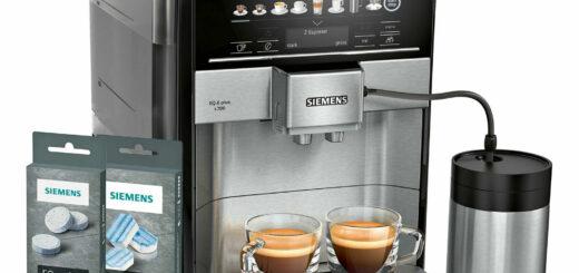 Siemens TE657M03DE EQ.6 plus s700 Kaffeevollautomat mit Reinigungsset Entkalkung