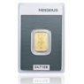 5 Gramm Goldbarren (Heraeus)steuerbefreit nach § 25c USTG